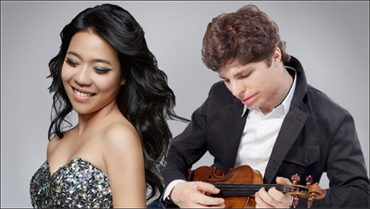Chamber Music International's 31st Season - 2016-2017 featured artists, Joyce Yang and Augustine Hadelich
